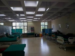 Facilities available for the nursing students.