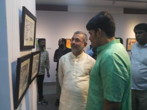 Siddharth Muraly with Hon. Justice Kurian Joseph