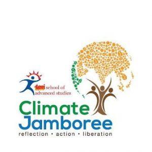 A poster of TERI SAS' Climate Jamboree event.